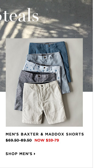 Shop Men's Summer Steals